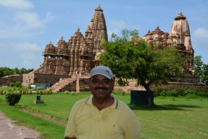 Me at Khajuraho