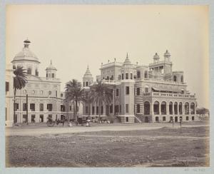 Darshan Bilas and Chota Chattar Manzil - Lucknow 1860's
