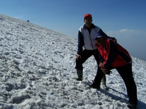 The Gulmarg Snow Heights, Raja and I