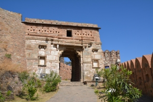 Hanuman Pol or Entrance
