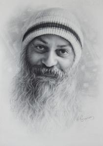 osho_bhagwan_shree_rajneesh_portrait_by_dry_brush_by_drawing_portraits-d5cl2po