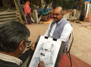 Dharam Ji at Work