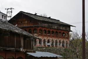 A traditional Jaunsari House