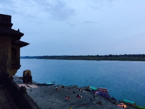 View of Ghats from Fort