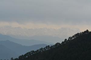 Himalaya Darshan from Khirsu