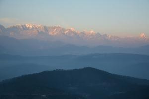 Views of Himalaya from Anasakti Ashram, Kausani